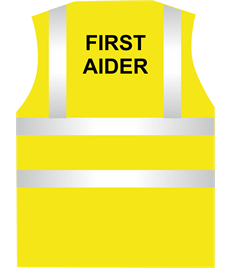 HI Visibility First Aider Vest