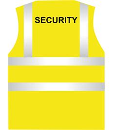 Hi Visibility Security Vest